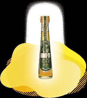 圧搾米油コメーユ110gのボトル商品画像