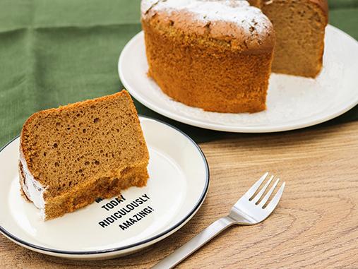 米粉&米ぬか チョコシフォンケーキの写真